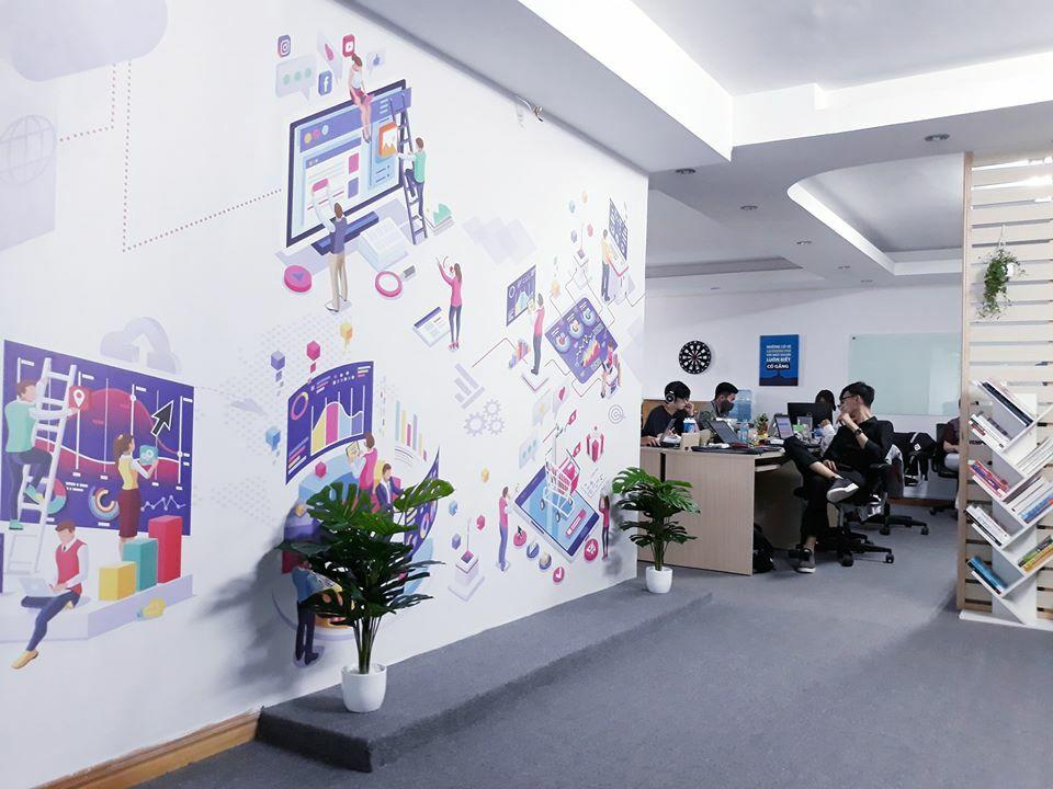 Văn phòng công ty Gigan Joint Stock Company.