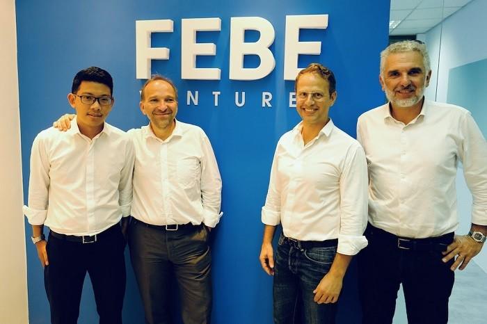 Những thành viên của FEBE Ventures. Ảnh: FEBE Ventures.