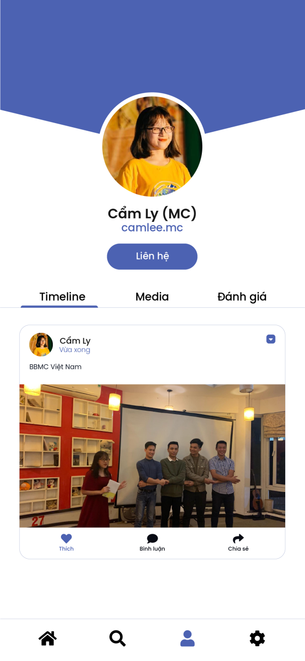 BBMC - Nền tảng công nghệ booking nhân sự trong lĩnh vực sự kiện