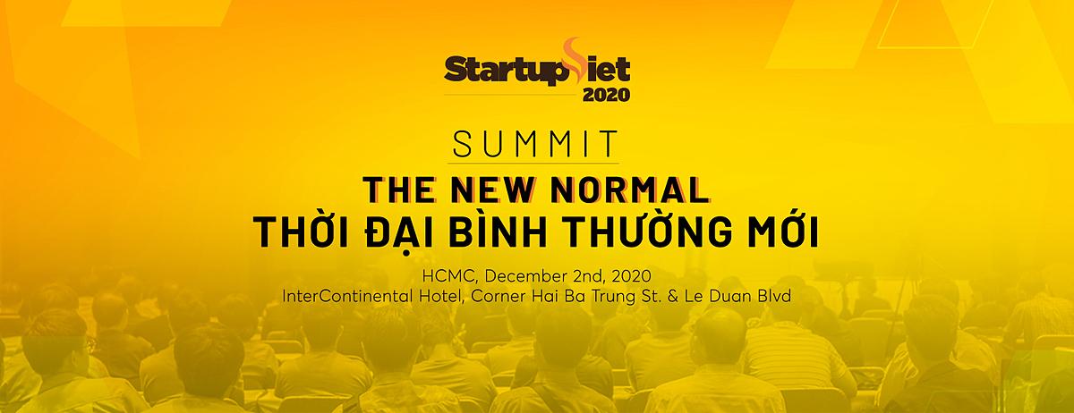 Gala Summit Startup Việt 2020 diễn ra ngày 2/12 tại InterContinetal, quận 1, TP HCM.