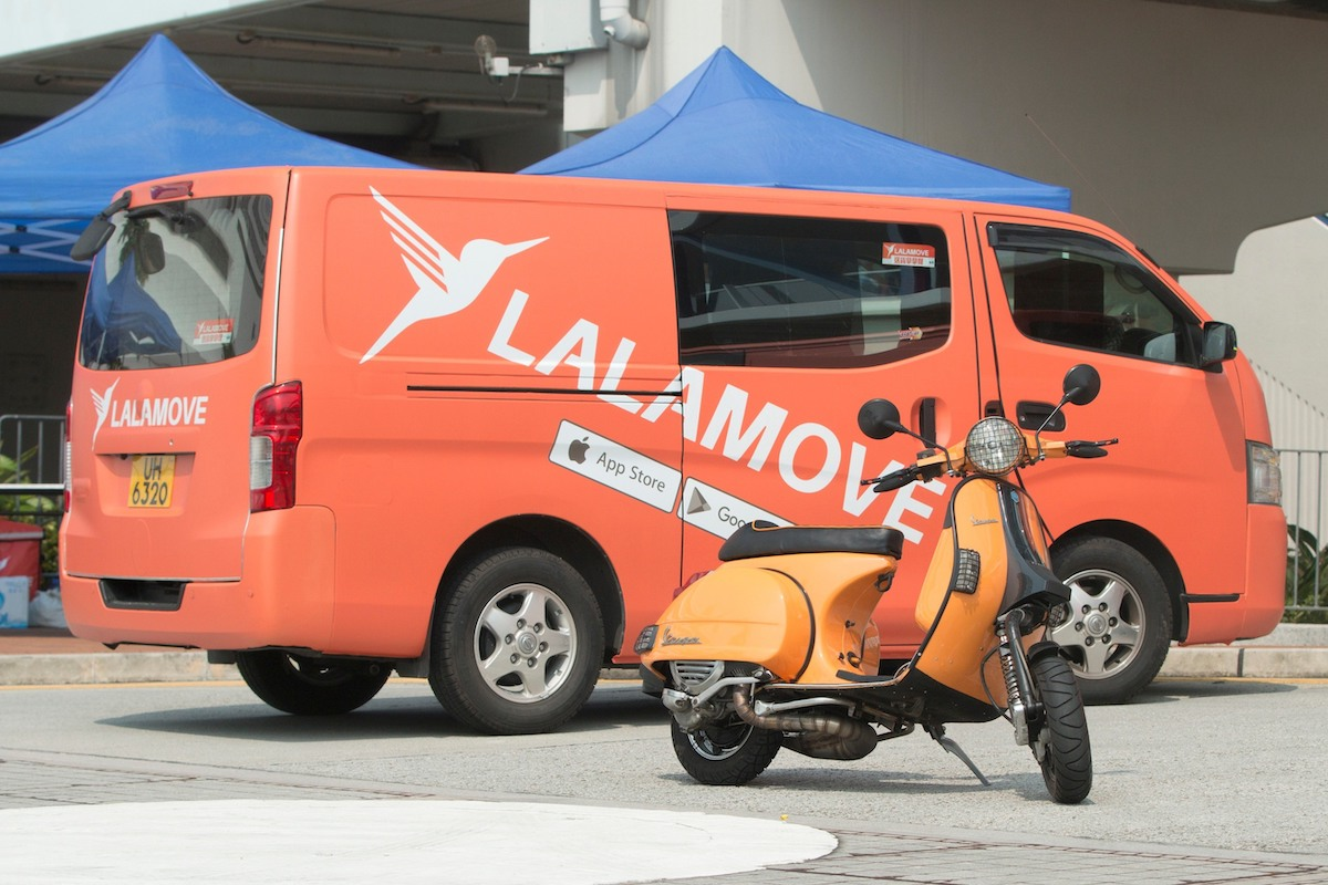Lalamove chuyên về giao hàng xe tải.