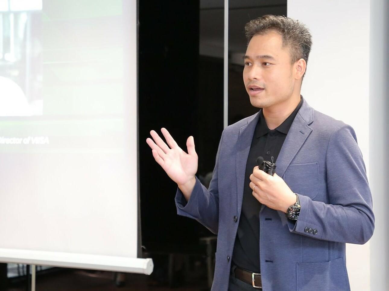 Ông Võ Trần Đình Hiếu - Thành viên HĐQT và Giám đốc chương trình tăng tốc tại VIISA. Ảnh: VIISA.