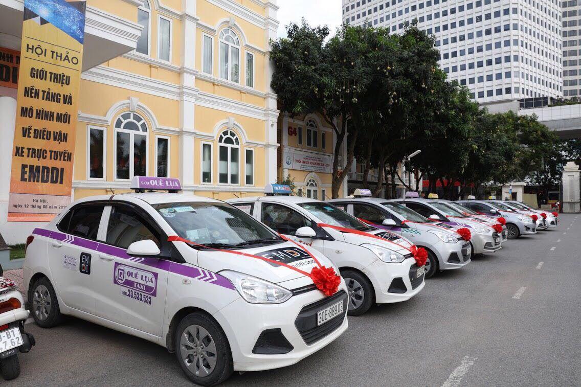 Nền tảng quản lý và điều vận xe EMDDI là một liên minh hơn 30.000 taxi tại 40 tỉnh, thành. Ảnh: ThinkZone.