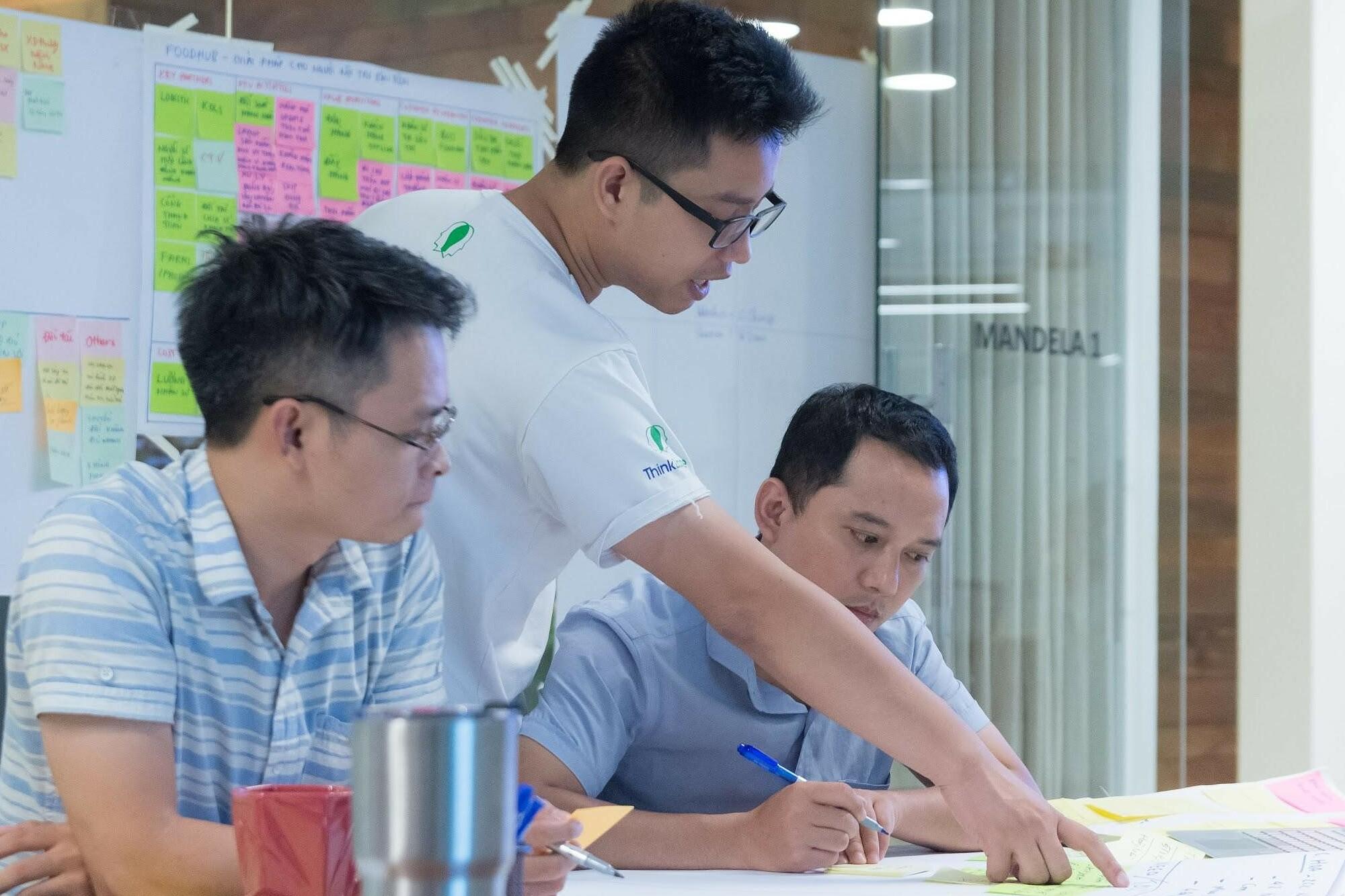 ThinkZone đào tạo cho các startup ứng dụng phương pháp Design Thinking (tư duy thiết kế). Ảnh: ThinkZone.