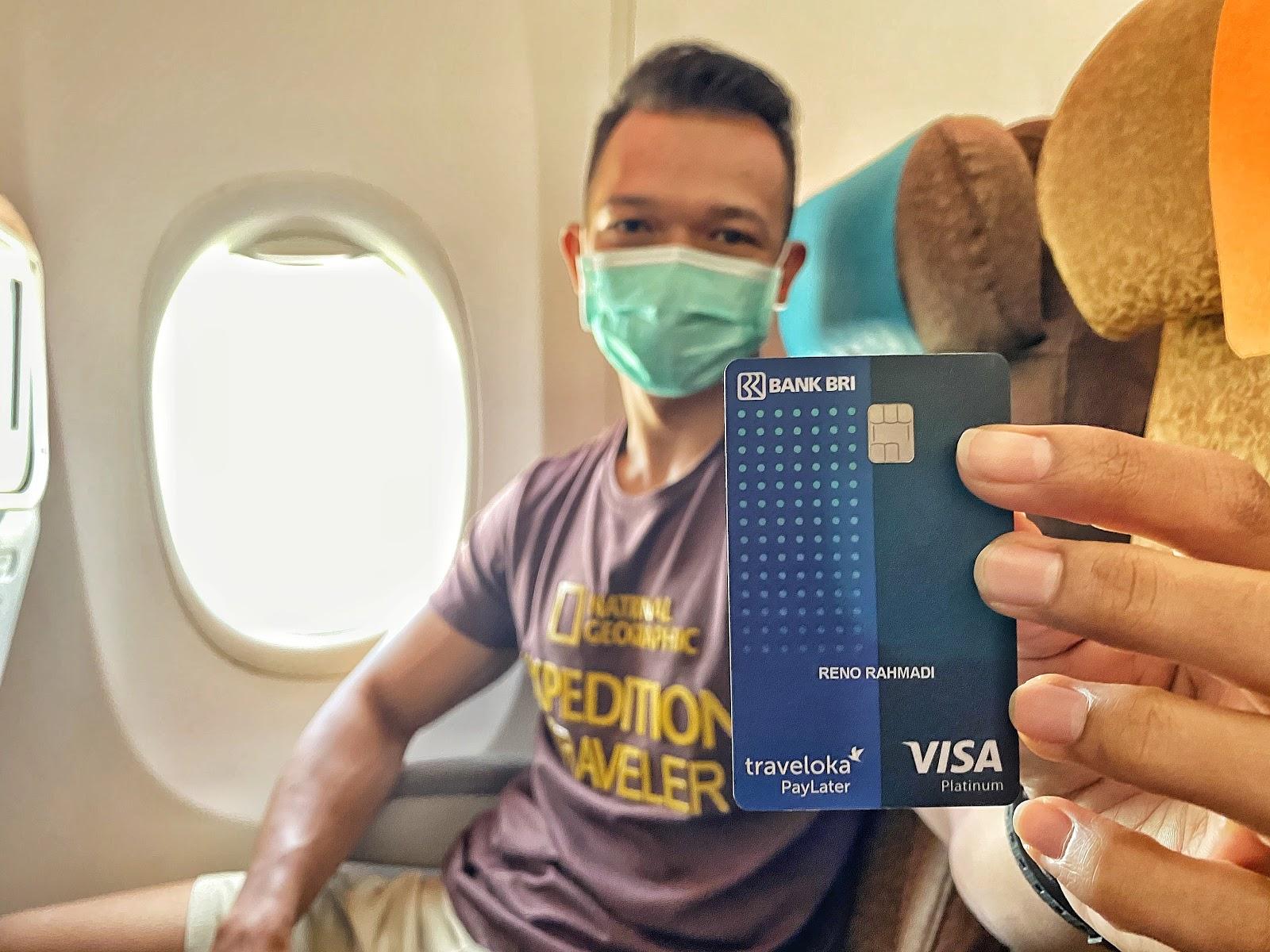 Thẻ tín dụng PayLater của Traveloka. Ảnh: Traveler Jakarta.