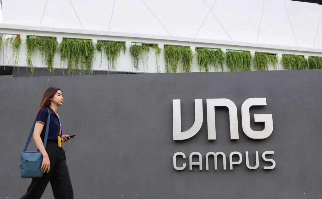 Trụ sở của VNG tại TP HCM. Ảnh: VNG.